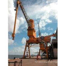 Wheel-Type Moving Bulk Sucking Port Unloader