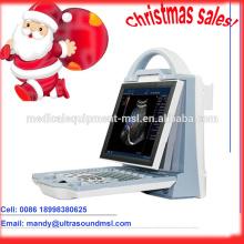 MSLCU23M, Weihnachten Verkäufe tragbare Farbe Ultraschall-Maschinen / Laptop Ultraschall-Maschinen