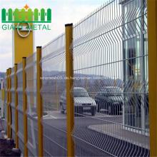 Korrosionsbeständigkeits-Plastikgarten-Quadrat-Maschendraht-Zaun