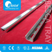Canal de puntal de acero profesional liso 41 * 41 mm con acabado estándar