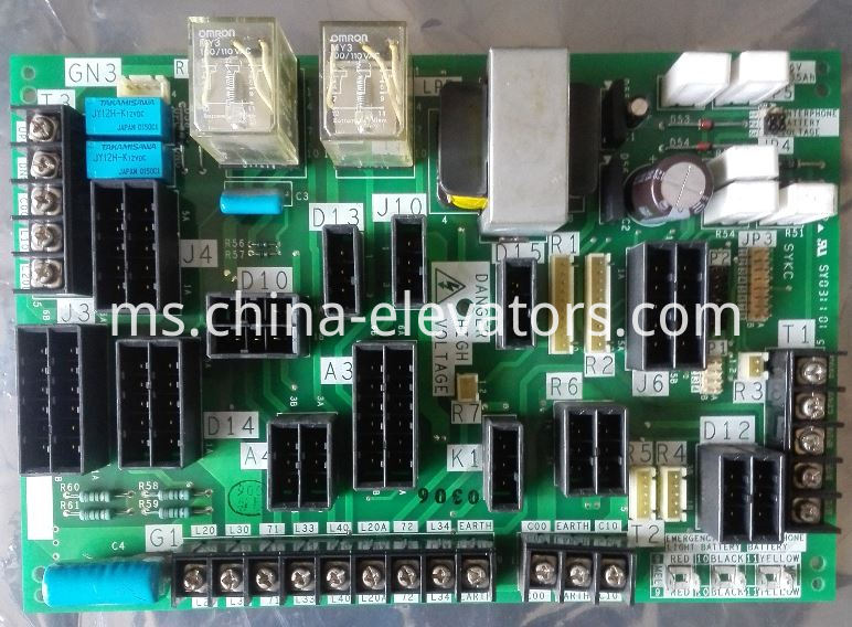 Door Operator Interface Board for Mitsubishi GPS-3 GPS-III Elevators