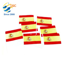 cheapest of polyester Spain hand flag International
