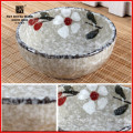 Japanese traditional stoneware round dish for dinnerware, tableware various shapes