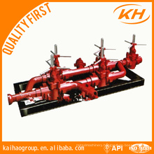 API Drilling Mud Manifold, choke manifold and kill manifold