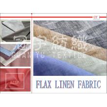 Flachs Leinen Compound 100% Polyester Stoff für Sofa