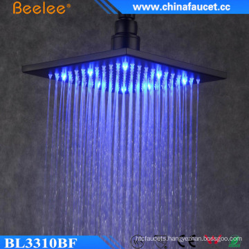Bathroom Luxurious 10 Inch Water Saving LED Light Head Shower