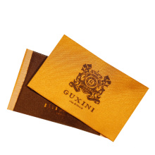 High Density Custom Letters Logo Machine Woven Labels for Clothes