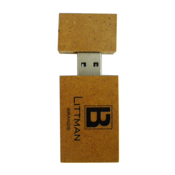 Bastoncini Usb di materiale in legno eco friendly personalizzati
