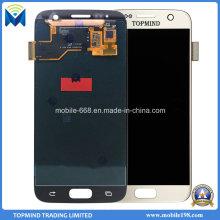 Pièces de rechange pour l'écran d'affichage à cristaux liquides de galaxie S7 G930f G930A G930V de Samsung avec le convertisseur analogique-numérique de contact