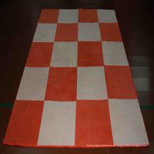 Patchwork-Kuhfell-Teppich aus Kunstpelz