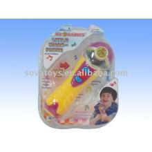 Crianças microfone eletrônico brinquedo