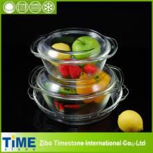 Ensemble Bakeware en verre à base de borosilicate (DPP-7)
