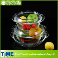 Borosilicate Glass Bakeware Set (DPP-7)