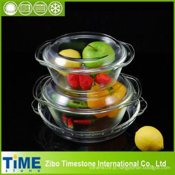Borosilicate Glass Bakeware Conjunto (DPP-7)