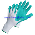 Latex Foam Garden Glove