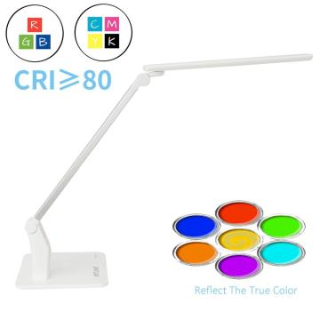 High+CRI+LED+Reading+Lamp+With+USB+In+White+Color+For+Artist