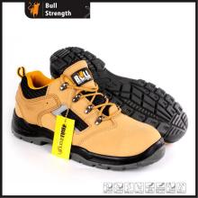Modelo PU/PU Outsole couro genuíno baixa segurança sapato novo (SN5497)