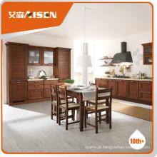 Hot sale armário de cozinha em madeira sólida Hangzhou
