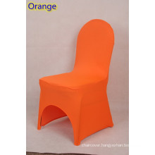 lycra chair cover,fit all banquet chairs,high quality,orange