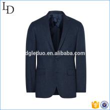 шерсть и шелк-смесь мужской костюм бизнес мужчины куртка на заказ для мужчин