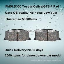 Toyota Camry pastillas de freno de disco D356