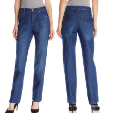 Women′s Classic-Fit Bootcut Wash Straight Leg Denim Jeans