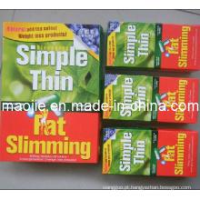 Cápsulas de peso perda fina simples, emagrecimento rápido