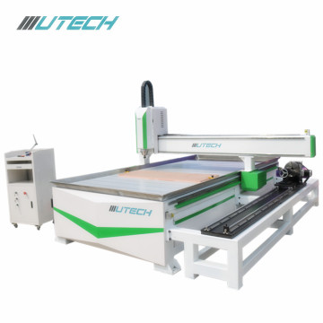 surfboard router cnc machine with rotary attachment