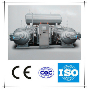 Water Bath Type 3 Conditioning Sterilization Kettle Machine/Meat Processing Machine/Poultry Equipment