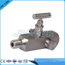 High pressure gauge valve, gauge root valve