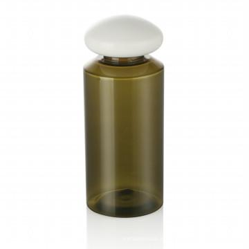 Tapa plástica de la botella del cuidado de la piel del casquillo plástico de la botella del animal doméstico de 150ml con la venta caliente caliente del empaquetado cosmético del casquillo plástico blanco