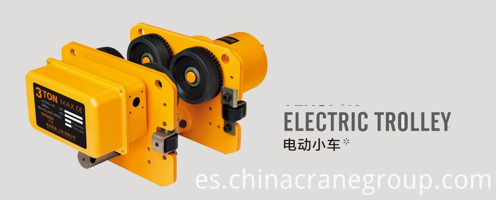 Electric chain hoist for material handling