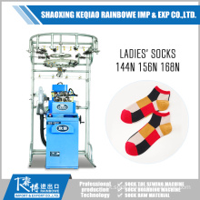 Plain Sock Knitting Machine para senhoras de moda