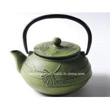 Green Cast Iron Teapot 0,6L