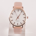LEATHER WATCH WOMEN GENDER stainless steel back watch japan battery made in China