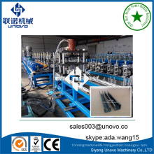 Solar photovoltaic stents rollformer steel strut channel making machine