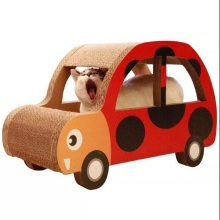 Car Shape Corrugated Paper Cat Scratch Scratching Board