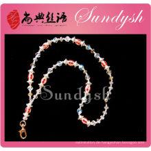 Sommer-Grün-Charme-lange Keychain Shamballa hängende Halskette