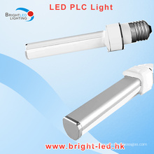 High Quality G24 LED PLC Light with E27 Base