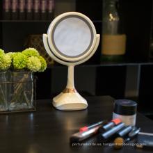 Nuevo espejo caliente del maquillaje de la música del altavoz del bluetooth de los productos 2017 con la luz del LED
