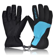 Fabricação de esportes ao ar livre de dedo reforçado quente manter luvas de esqui