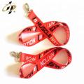 Ruban de satin double face 100% polyester rouge et noir de bonne qualité