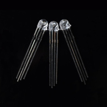 4 broches 5mm chapeau de paille RVB LED anode commune