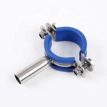 Сварная опора трубы из нержавеющей стали с резиновым соединением