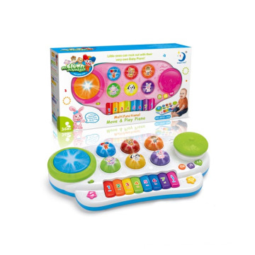 Funny Musical Instrument Game with Music and Light (10215954)