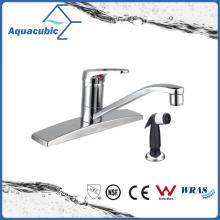 """Faucet de torneira de cozinha de placa de 1 """"de punho único popular (AF8050-5)"""