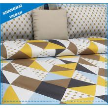 Colorful Diamonds Printed Cotton Bedsheet Set