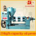 Frio pequeno pressionou a máquina Yzyx120wk da extração do óleo de semente