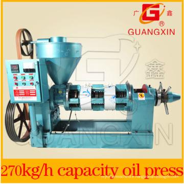Petite machine d'extraction d'huile de graine pressée à froid Yzyx120wk
