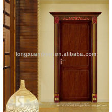 Aluminum Swing door with wood grain color, exterior front door